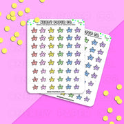 GAMER STAR STICKERS - Hand Drawn Planner Stickers - Deco - GS004