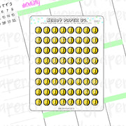 NINTENDO-INSPIRED COINS - Hand Drawn Planner Stickers - Deco | GS017