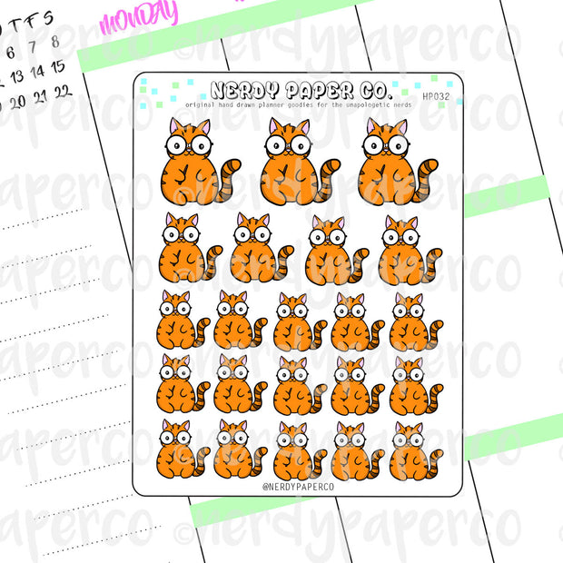 SUKI POTTER - Hand Drawn Planner Stickers - HP032