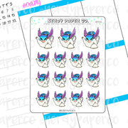 OCCAMY - Hand Drawn Wizard Planner Stickers - HP056