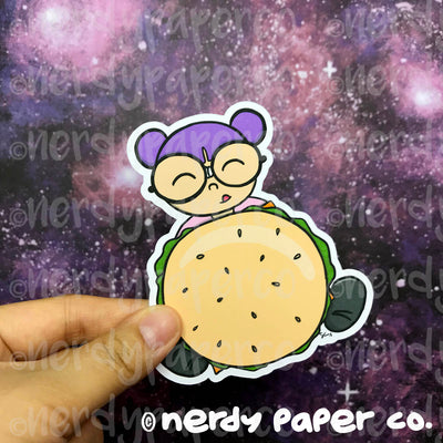 BURGER KAYLA-  Hand Drawn Planner Die Cut