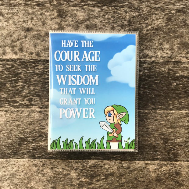 COURAGE - STICKER ORGANIZER ALBUM