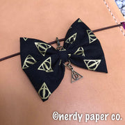 Wizarding  | Handmade Planner Bow Charm
