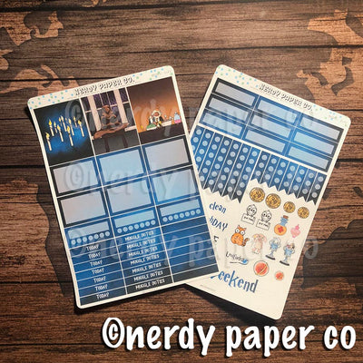 GREATHALL MINI KIT - Hand Drawn Wizard Planner Stickers | MK003