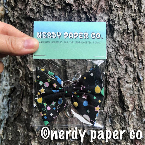QUIRKY WITCH BOW  | Wizard | Handmade Planner Bow Charm