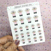 YAAAAS / YES - Hand Drawn Planner Stickers - DS024