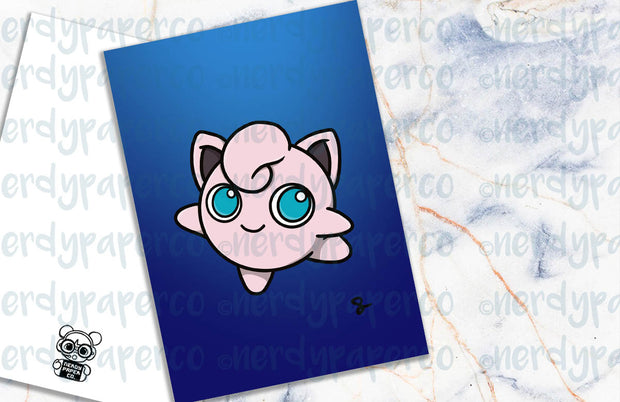JIGGLY PUFF - Hand Drawn Planner Dashboard