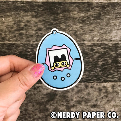 PEEKING MAMETCHI -  Hand Drawn Vinyl Sticker