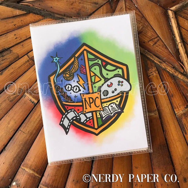 NPC CREST - STICKER ORGANIZER ALBUM