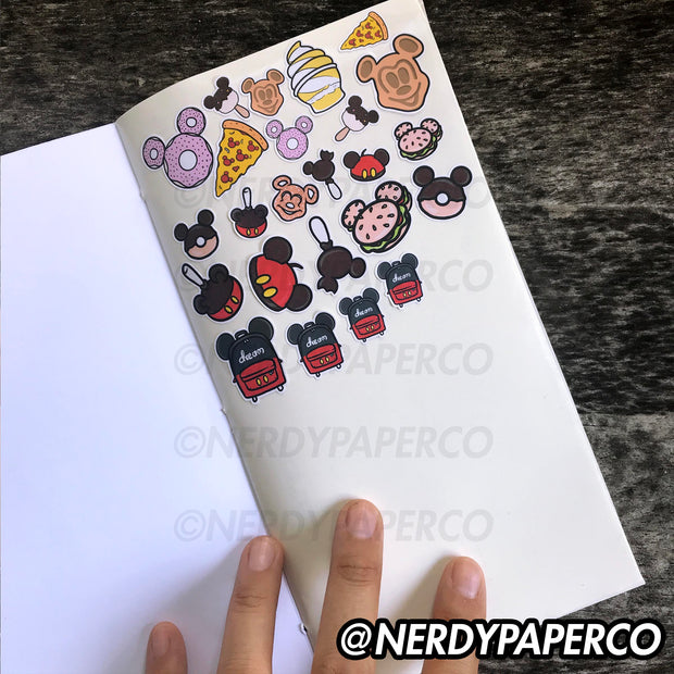 STICKERS STICKERS STICKERS STICKER NOTEBOOK