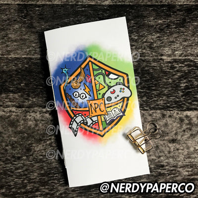 NPC CREST STICKER NOTEBOOK