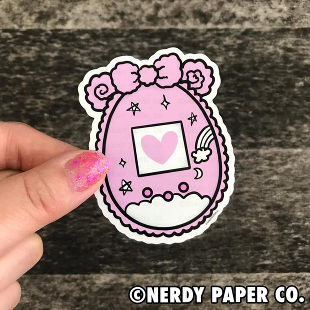 TAMA COZY -  Hand Drawn Vinyl Sticker