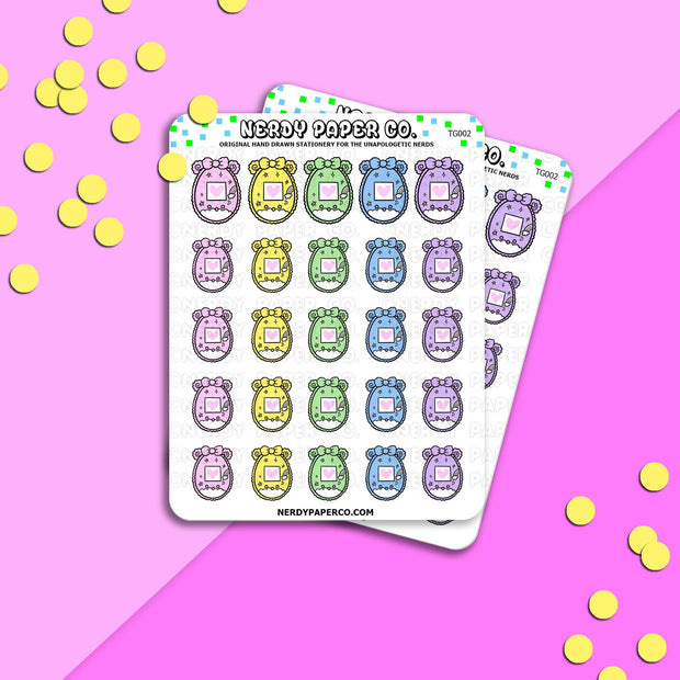 TAMA COZY - Hand Drawn Planner Stickers - Deco -TG002