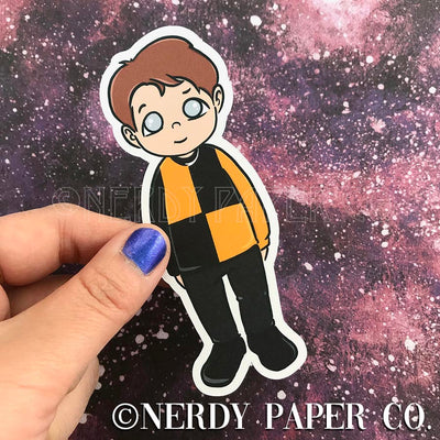 CEDRIC - Hand Drawn Wizard Planner Die Cut