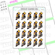 NIFFLER SHEET- Hand Drawn Wizard Planner Stickers Deco | HP043
