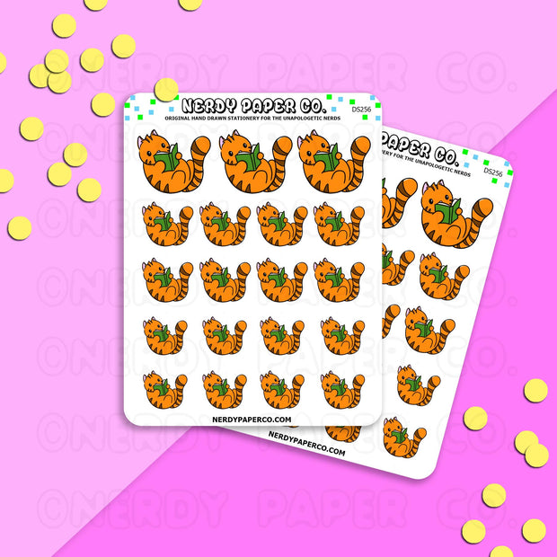 SUKI READING - Hand Drawn Planner Stickers - DS256