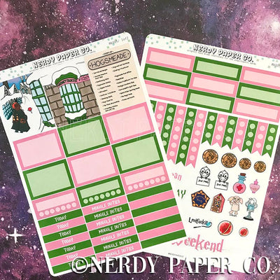 HUNNYDOOKS MINI KIT - Hand Drawn Wizard Planner Stickers | MK005