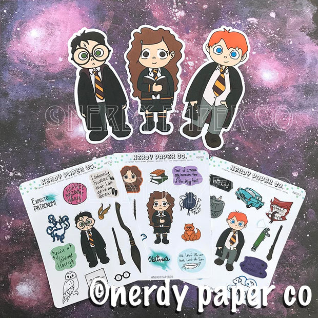 WIZARDING  PLANNER PACK