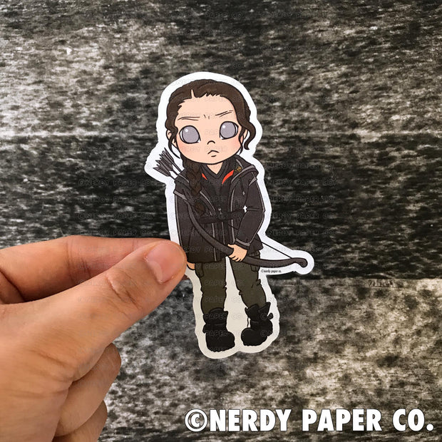 THE MOCKINGJAY - Hand Drawn Die Cut - Chibi