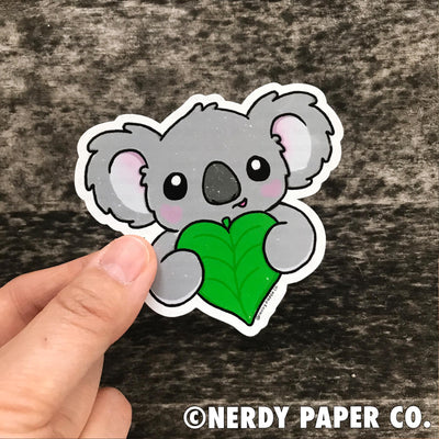 SAVE THE KOALAS  DONATION - Hand Drawn Vinyl Sticker
