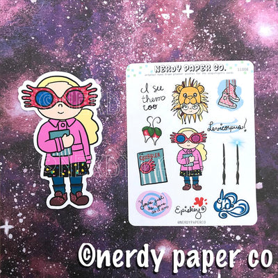 Quirky Witch Planner Pack