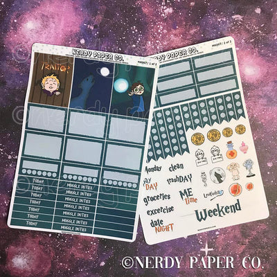 TRAITOR MINI KIT - Hand Drawn Wizard Planner Stickers | MK007