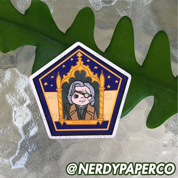 CHOCO FROG NO. 9 - Hand Drawn Wizard Planner Die Cut