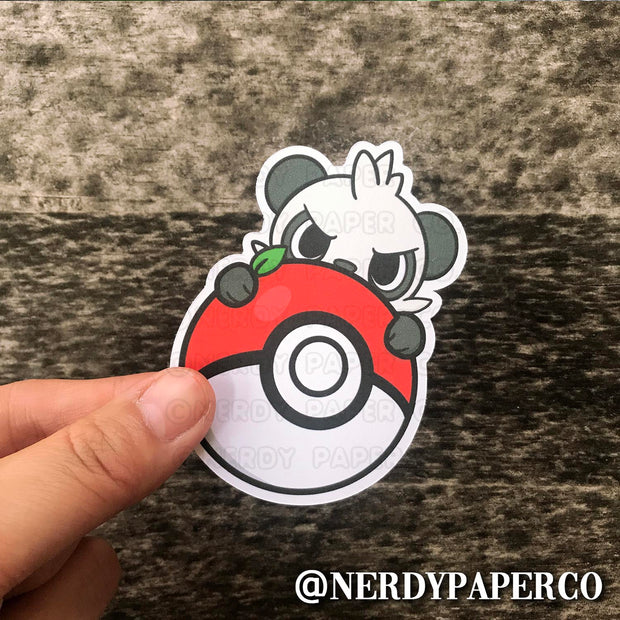 PEEKING PAN-CHAM -  Hand Drawn Vinyl Sticker