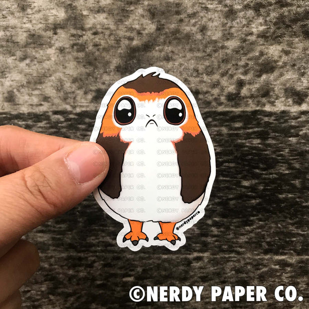 CUTE AVIAN -  Hand Drawn Vinyl Sticker