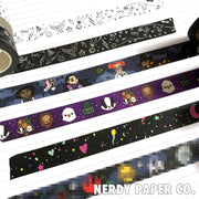 MAGICAL WORLD | WHITE | HOLOGRAPHIC WASHI TAPE | MT005