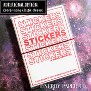 AKKIO STICKERS - STICKER ORGANIZER ALBUM