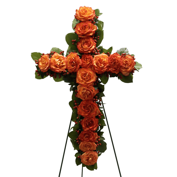 Small Floral Cross