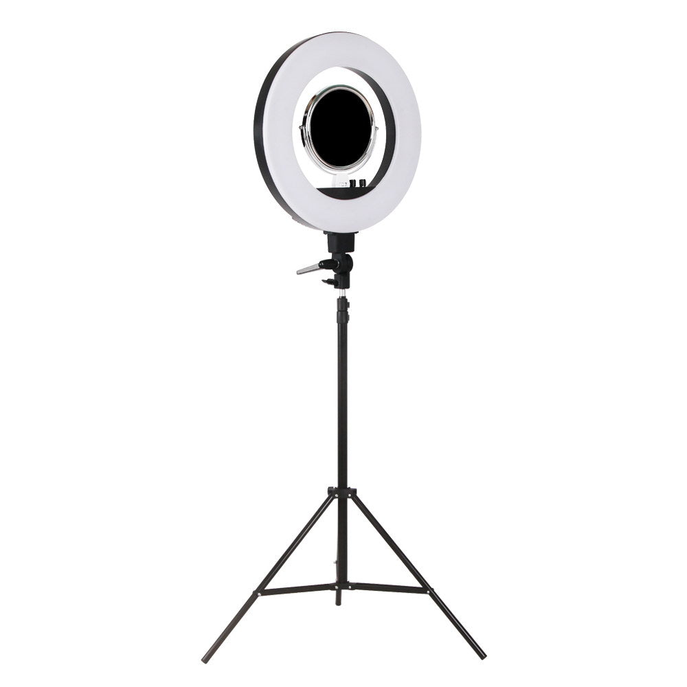 5800 Lumens Ring Light with Stand - Black