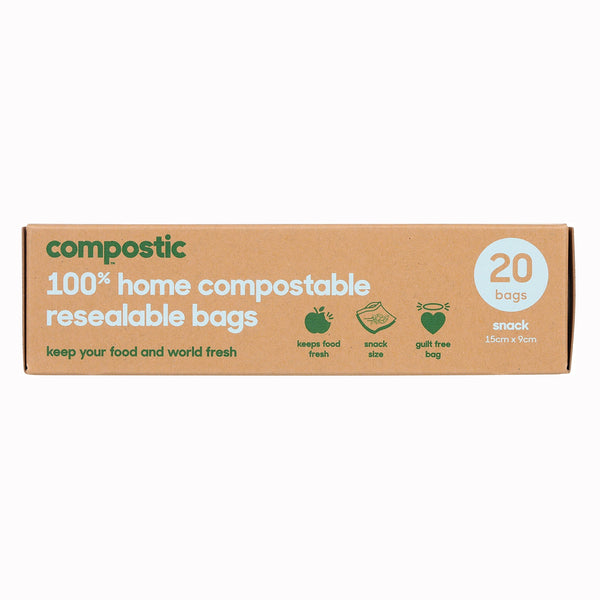 Home Composting Resealable Bag