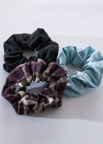 AFENDS Jesse Hemp Scrunchies Three Pack