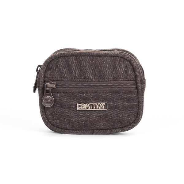 SATIVA Duo Coin Purse - Hemp & Organic Cotton