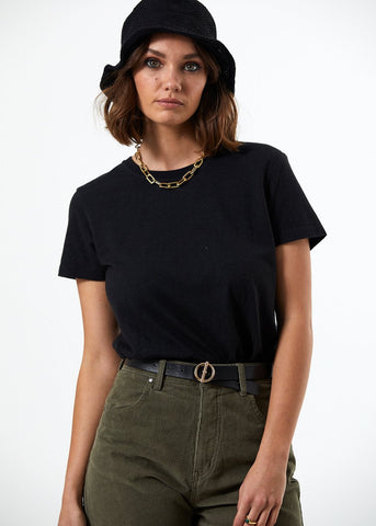 AFENDS Hemp Basics Womens Standard Fit Tee
