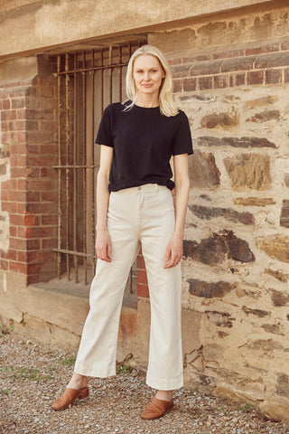 HEMP CLOTHING AUSTRALIA Highrise Newport Pant