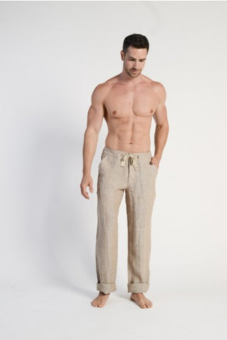 BRAINTREE Mens Beach Pant 100% Hemp