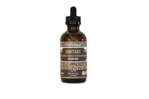 LIFE CYKEL Shiitake Double Extract Tincture 120ml
