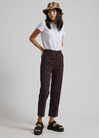 AFENDS Shelby Hemp High Waist Wide Leg Pants