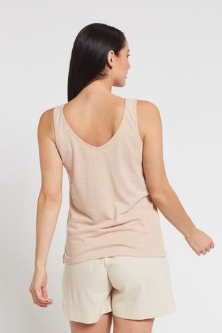 BRAINTREE Ladies Hemp Cotton Singlet
