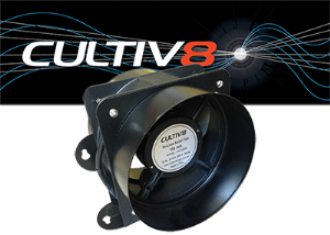 Cultiv8 100mm Inline Fan
