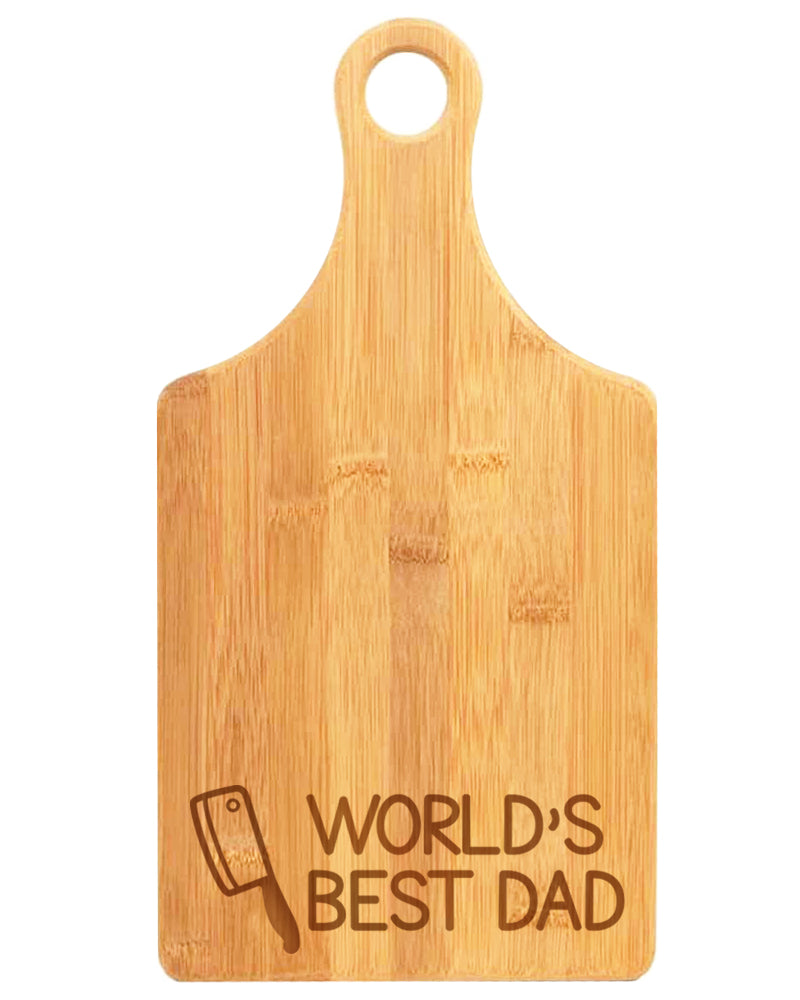 'World's Best Dad' Cutting Board