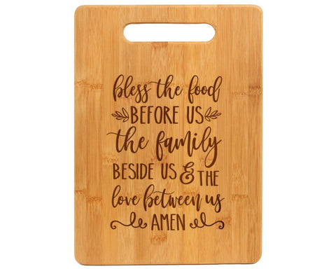 Bless The Food Before Us Cutting Board