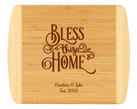 Bless This Home Cutting Board
