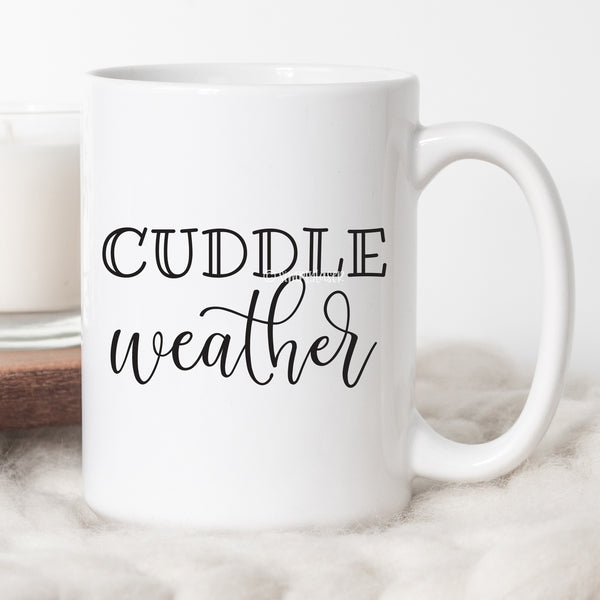 Cuddle Weather Coffee Mug