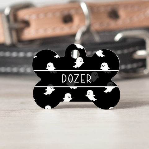 Ghosts Pet Tag