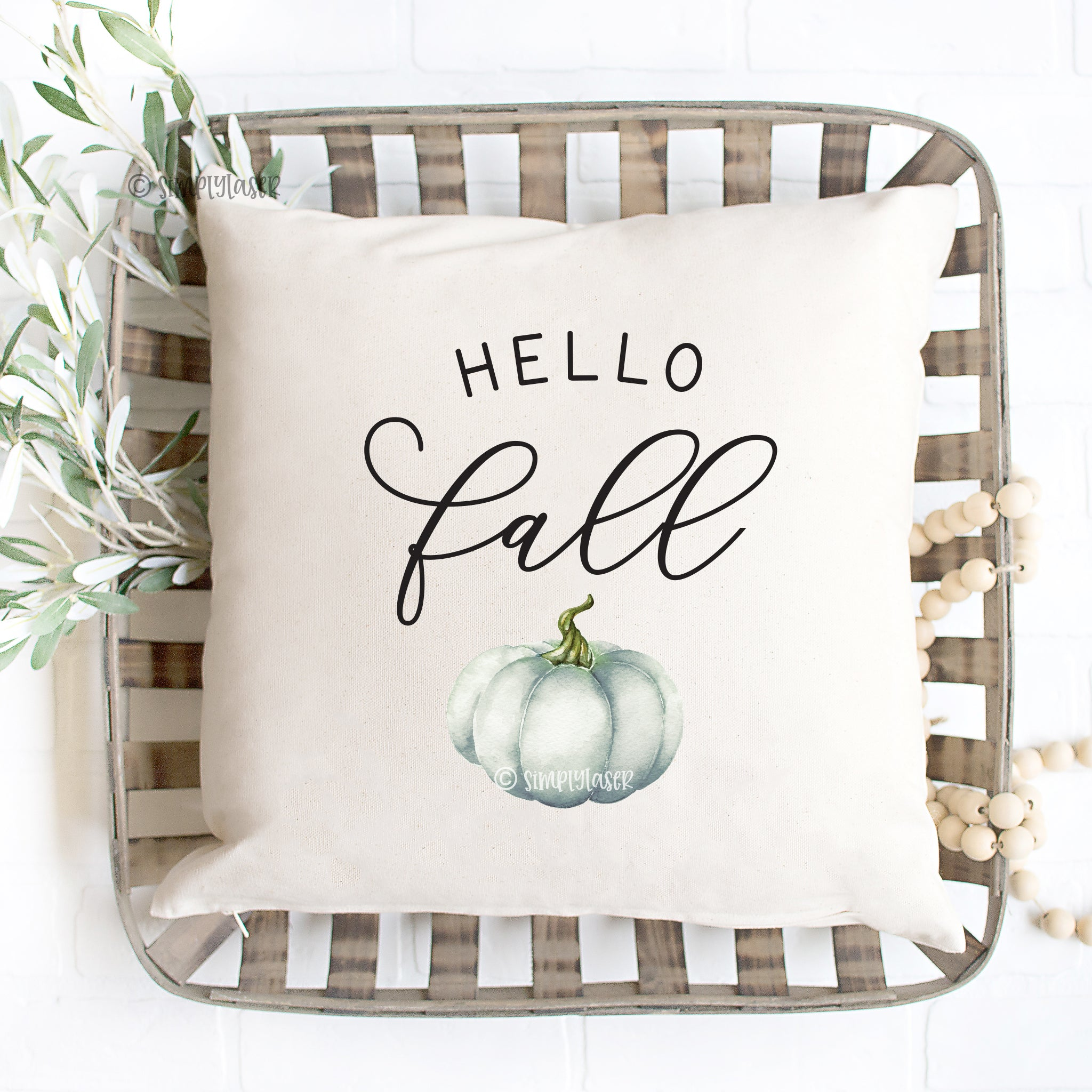 Hello Fall Pillow Cover