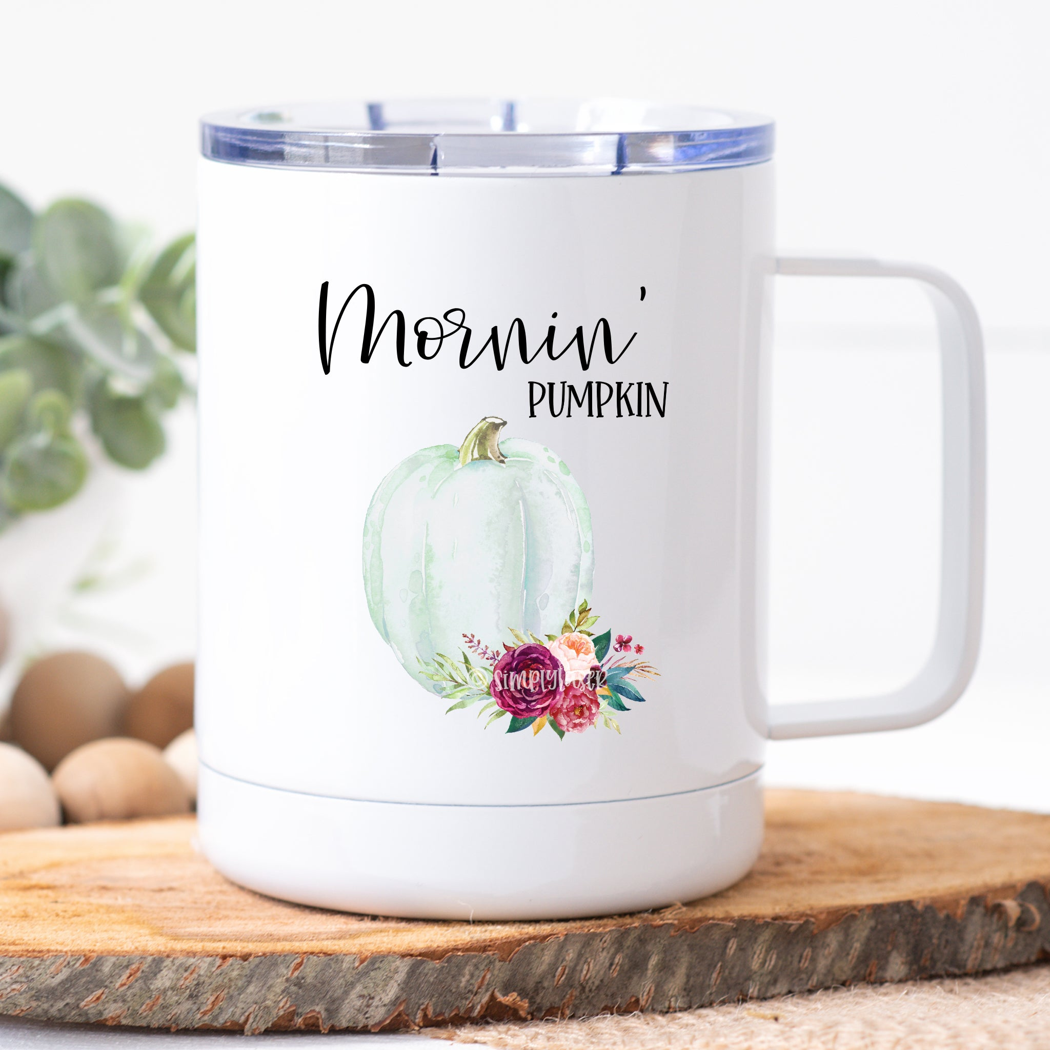 Mornin' Pumpkin Travel Mug